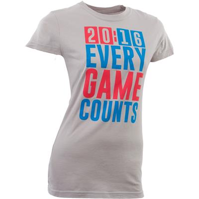 Bowery Apparel 20:16 Every Game Counts Tee Shirt