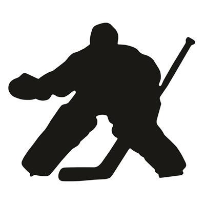 A&R Hockey Goalie Magnet & Decal