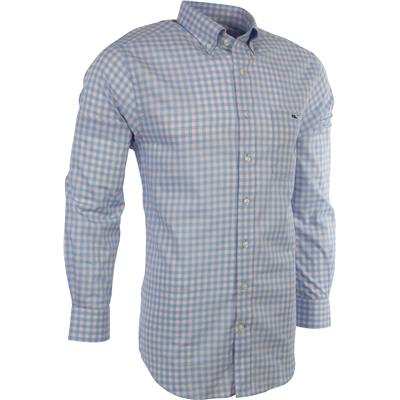 Vineyard Vines West Cay Gingham Slim Tucker Shirt