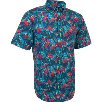Vineyard Vines Birds of Paradise Short Sleeve Murray Shirt