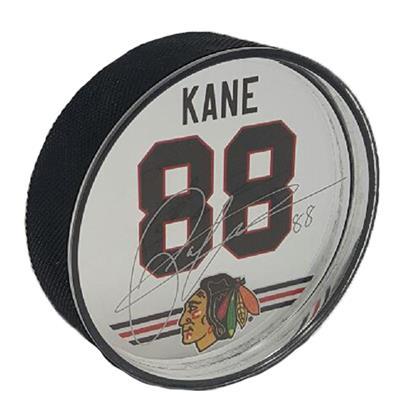 Patrick Kane Signature Puck