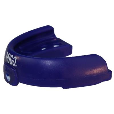 MOGO Sport Braces Flavored Mouthguard w/Case - Blue Raspberry