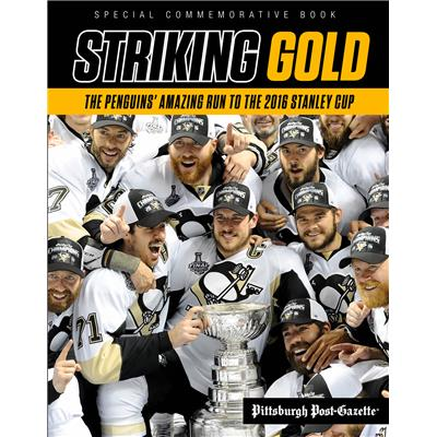 Pittsburgh Penguins Striking Gold 2016 Stanley Cup Book