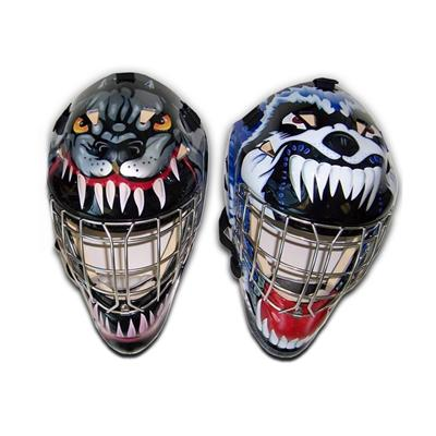 Vaughn 7500 Goal Mask With Decals