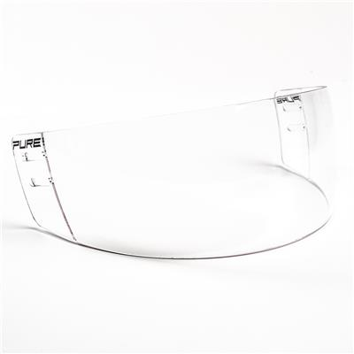 Pure Straight Clear Visor - S30