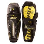 Warrior Alpha QX Hockey Shin Guards - Senior