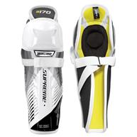 Learn To Play Hockey Bauer Supreme S170 Youth Shin Guards