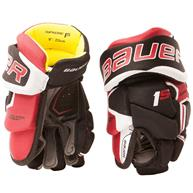 Learn to Play Hockey Bauer Supreme 1S Youth Hockey Gloves