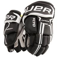 Learn to Play Hockey Bauer Supreme S170 Youth Hockey Gloves