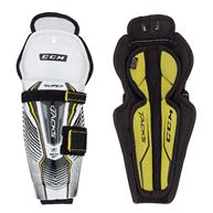 Learn To Play Hockey CCM Super Tacks Youth Shin Guards