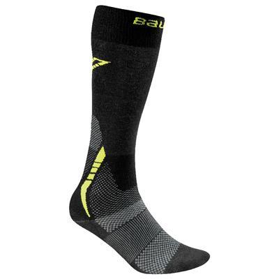 Bauer Premium Tall Hockey Skate Sock - 2017