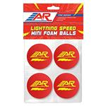 A&R Lightning Speed Mini Hockey Balls - 4 Pack