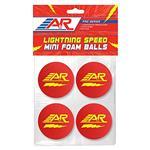 A&R Lightning Speed Mini Balls 4pk