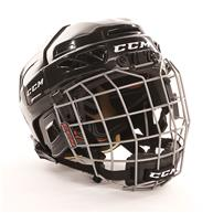 Learn to Play Hockey CCM Fitlite 3DS Helmet Combo