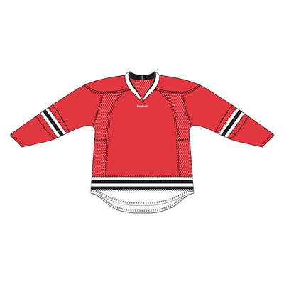 Reebok 25P00 NHL Edge Gamewear Hockey Jersey - Chicago Blackhawks