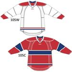 Reebok 25P00 NHL Edge Gamewear Hockey Jersey - Montreal Canadiens [SENIOR]