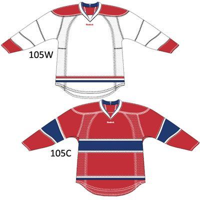 Reebok 25P00 NHL Edge Gamewear Hockey Jersey - Montreal Canadiens