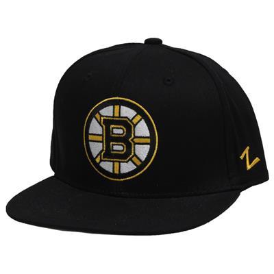 Zephyr APEX Snapback Hockey Hat - Boston Bruins