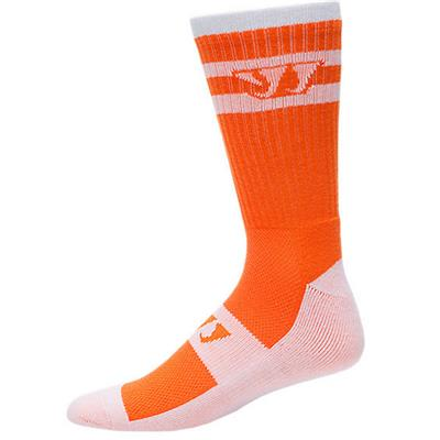 Warrior Crew Stripe Lacrosse Socks - Adult