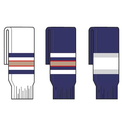 FlexxIce Team SK200 Hockey Socks - Edmonton Oilers