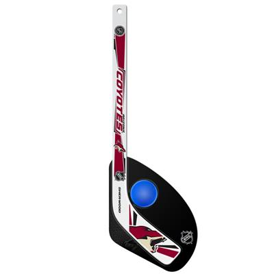 Sher-Wood Hattrick Gen II 2 Piece Mini Player Stick w/ Foam Ball - Arizona Coyotes