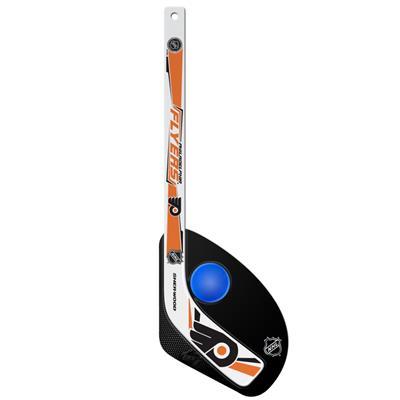 Sher-Wood Hattrick Gen II 2 Piece Mini Player Stick w/ Foam Ball - Philadelphia Flyers
