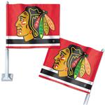 Wincraft Hockey Car Flag - Chicago Blackhawks