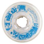 Rink Rat Identity Conflict Inline Hockey Wheels - White/Blue