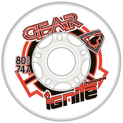 Gear Ignite Indoor Inline Hockey Wheel - White - 2015
