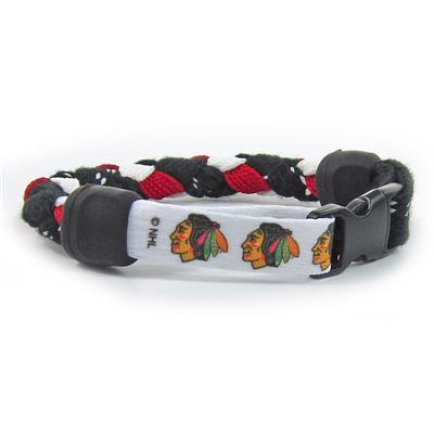 Pro Guard NHL Bracelet - Chicago Blackhawks - 8 Inch