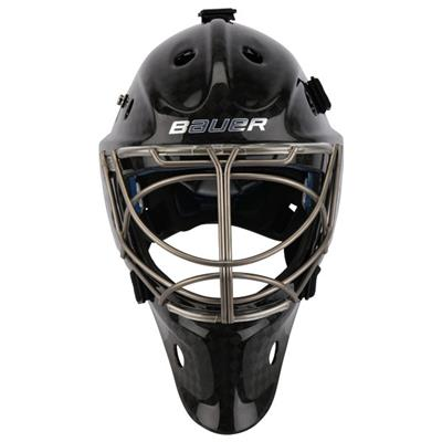 Bauer NME 9 Pro Titanium Hockey Goalie Mask w/ Non-Certified Cat Eye Cage