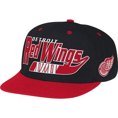 Reebok NX08Z Hockey Stick Snapback Hockey Hat - Detroit Red Wings