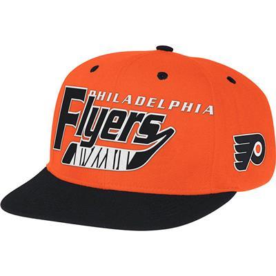 Reebok NX08Z Hockey Stick Snapback Hockey Hat - Philadelphia Flyers