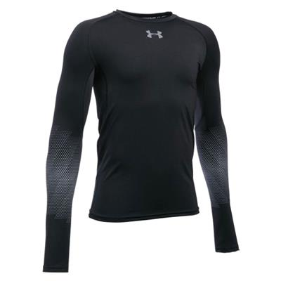Under Armour Purestrike Grippy Fitted Long Sleeve Hockey Shirt