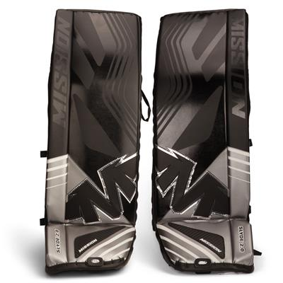Mission Slyde 2.0 Hockey Goalie Leg Pads