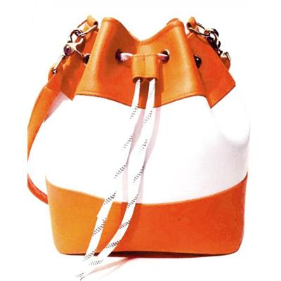Requipd Hockey Lace Bucket Tote Bag - Philadelphia Flyers - Orange