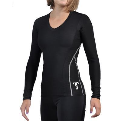 Triple Threat T3 Short Sleeve Performance Hockey Shirt - Women