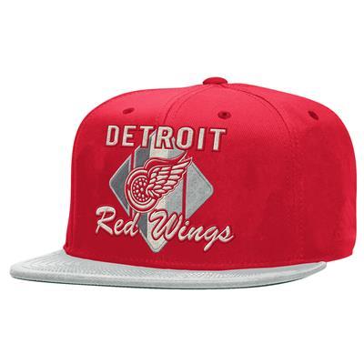 CCM Snapback Hockey Hat - Detroit Red Wings