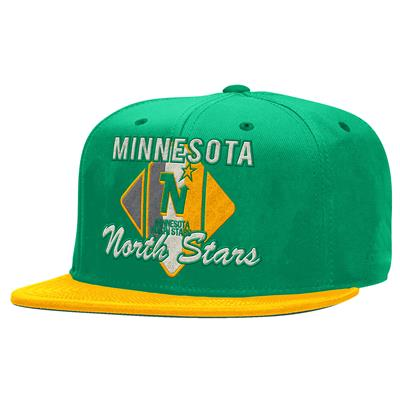 CCM Snapback Hockey Hat - Minnesota North Stars