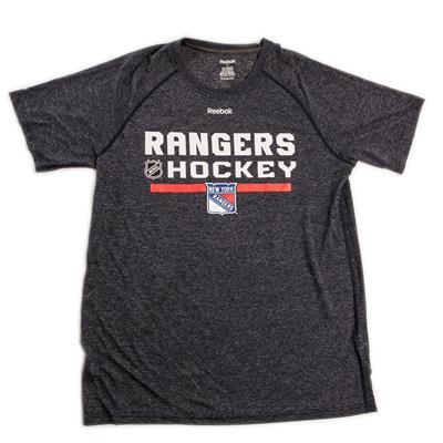 Reebok Locker Room Long Sleeve Shirt - New York Rangers