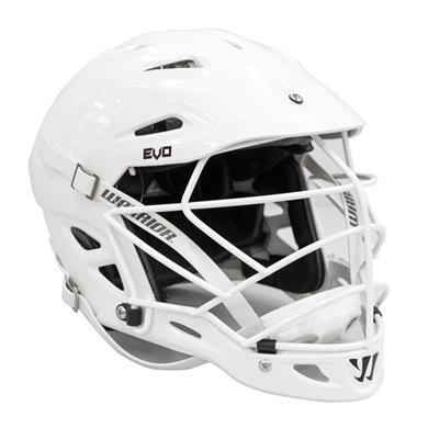 Warrior EVO Helmet - White/White