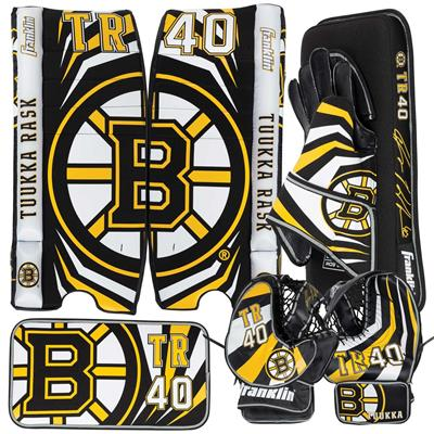 Franklin Boston Bruins Tuukka Goal Set