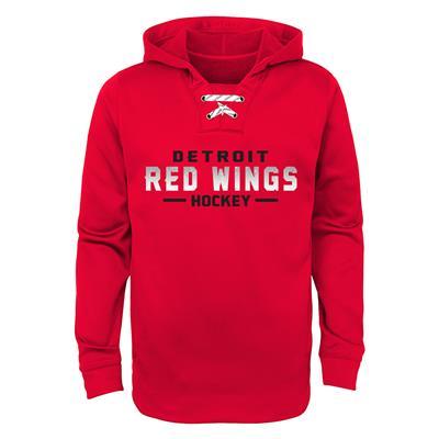 Red Wings Basic Poly Hockey Hoody