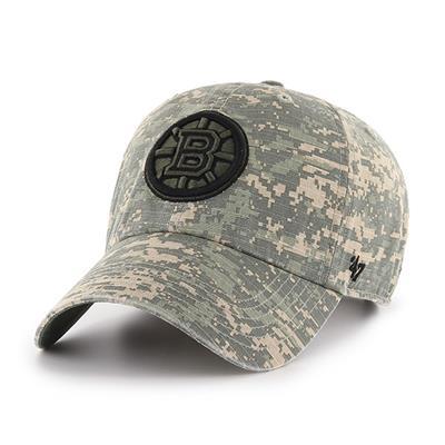 47 Brand Bruins Camo Officer Cap