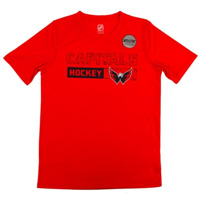 Capitals Ice Form Performance Short Sleeve Tee
