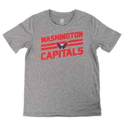 Capitals Iced Through Performance Short Sleeve Tee