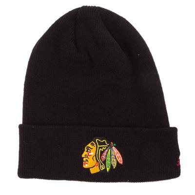 Adidas Cuffed Knit Chicago Blackhawks Hat