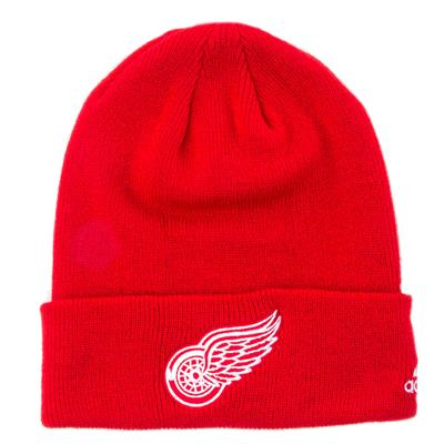 Adidas Cuffed Knit Detroit Red Wings Hat