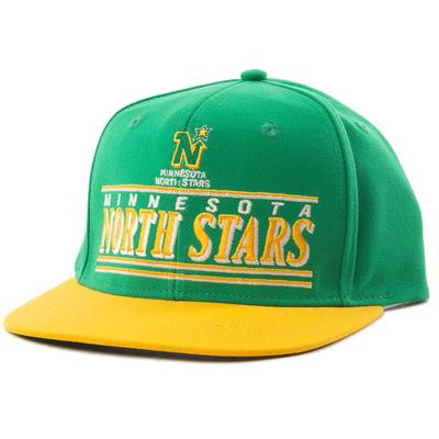 CCM Flat Brim Minnesota North Stars Cap