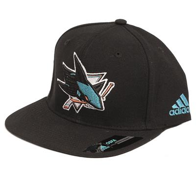 Adidas Flat Brim Snapback Sharks Cap